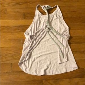 Free People Backless Tank Sz S